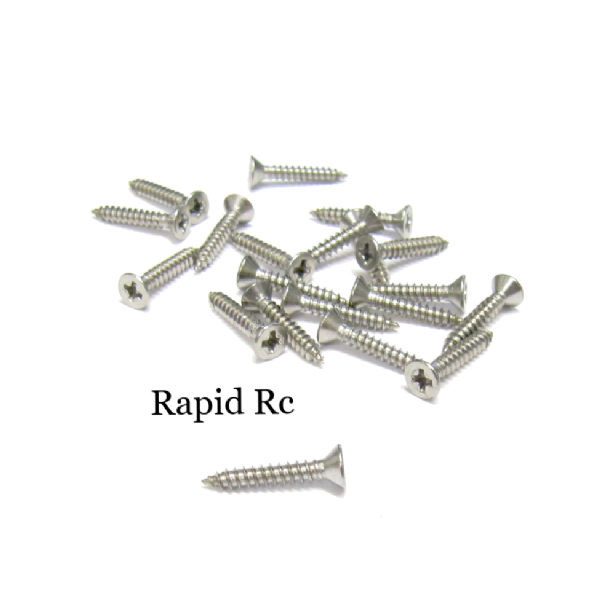 Stainless steel A2 Counter Sunk  Phillips Head Self Tapping screw 2.2mm x 13mm